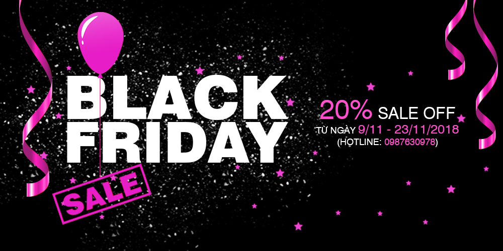 BLACK FRIDAY 2018 cùng Rose Skin Spa